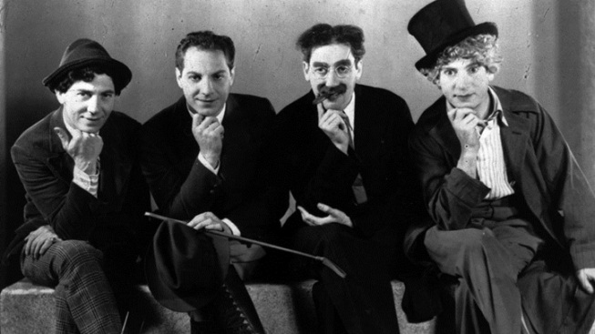 The Marx Brothers Lark Up New Year's Day