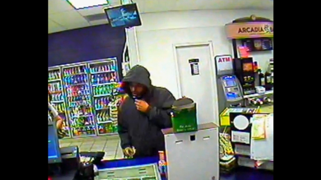 Unknown Man Robs Same Gas Station 5 Times