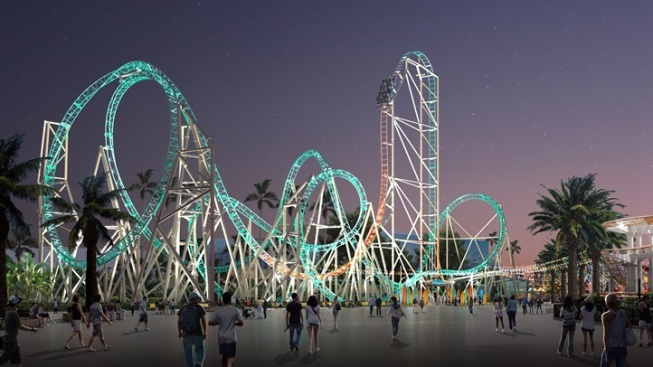 HangTime, Knott's New Dive Coaster, Gets an Opening Date