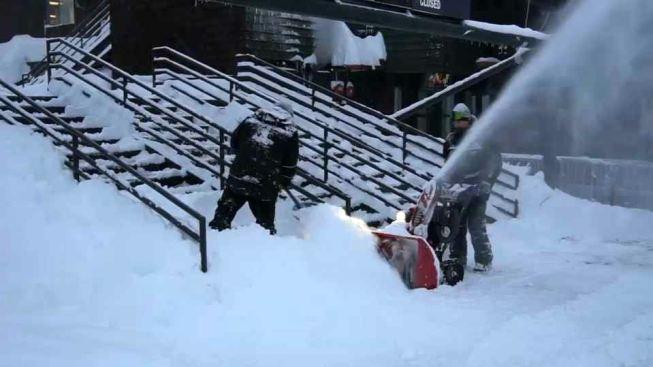 5 Feet of Snow Fell in 24 Hours at Sierra Nevada Peak: Weather Service
