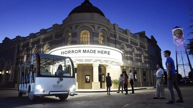 Horror Made Here: Warner Bros. by Night