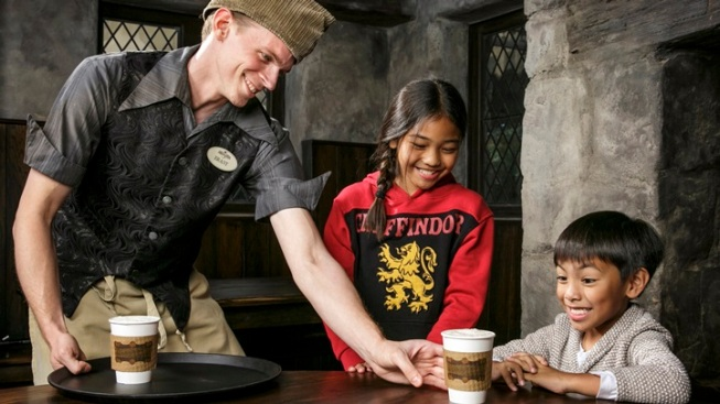Big: Hot Butterbeer Arrives at Wizarding World