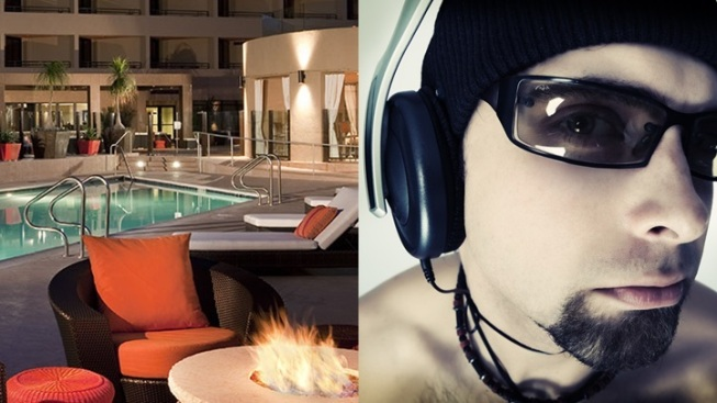 Silent DJ Parties Rev Up Hyatt Palm Springs
