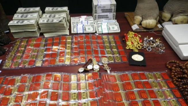 OC Raid Nets Rhino Horns, Gold, Cash: Report