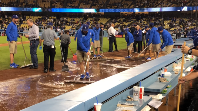 That Stinks! Freeway Series Finale Called After Sewage Line Breaks at Dodger Stadium