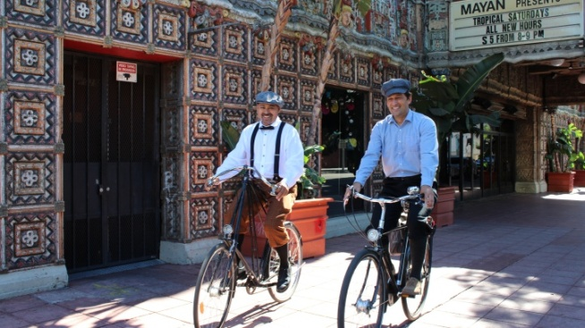 DTLA Bike Tour Looks at Another SoCal Flower Parade