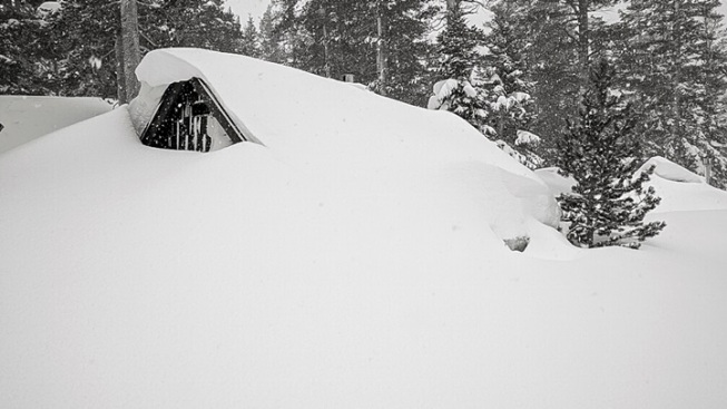 Mammoth Mountain: Snowiest Month on Record