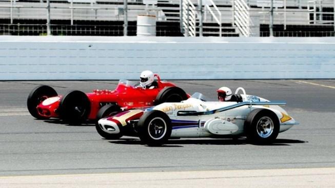 Vintage Vroom: Historic Race Cars in Fontana