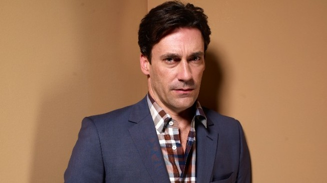 "Jon Hamm in ""The Three Sisters"""