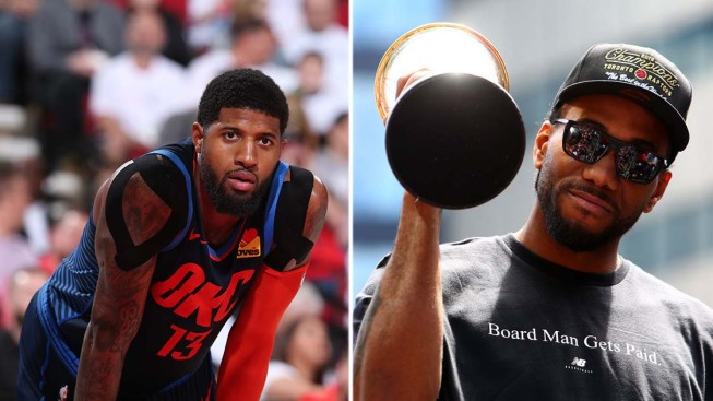 Kawhi Leonard and Paul George Officially Join LA Clippers