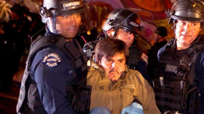 Occupy LA Sues Over Mass Detentions