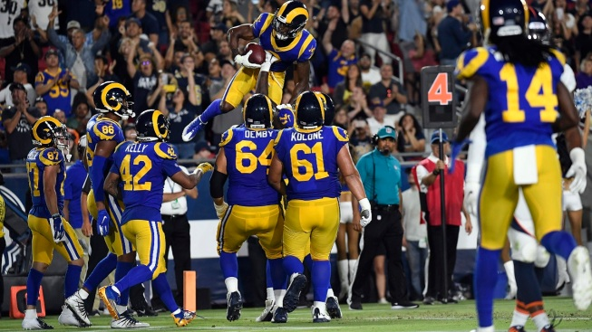 best authentic 66b98 04738 Los Angeles Rams Make Cuts, Complete Roster - NBC Southern ...