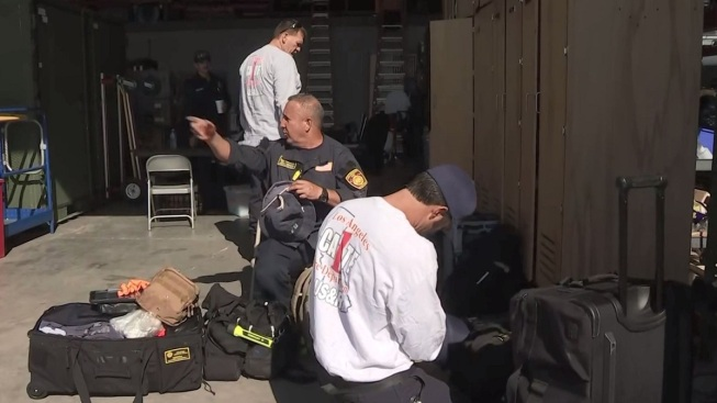 LA City, County Firefighters Joining Hurricane Dorian Response