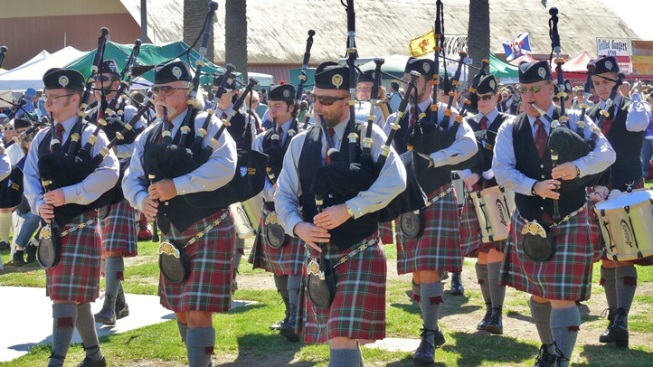 Bagpipes in the Air: Seaside Highland Games