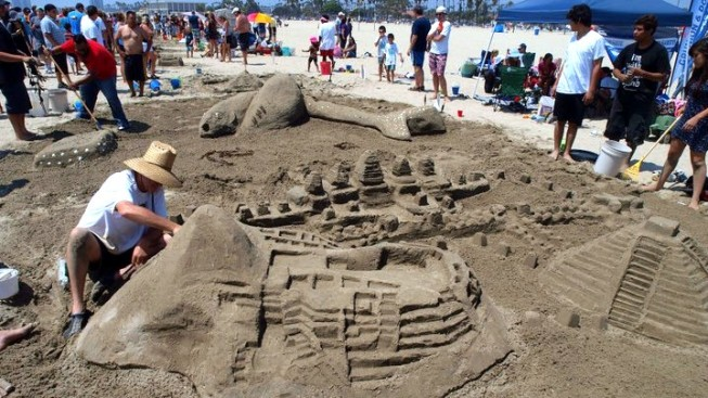 Weekend: The Great Sand Sculpture Contest