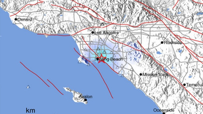 Magnitude-3.1 Quake Hits Long Beach