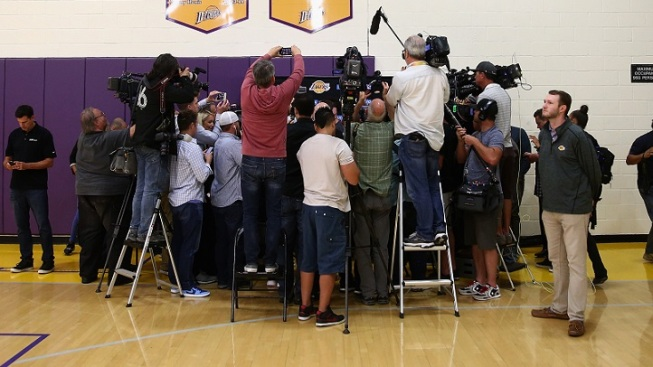 Lakers Counting Down to NBA Draft on Thursday