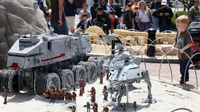 Explore the LEGO Death Star and Heartlake City at LEGOLAND California Resort