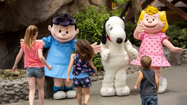 No 'Aaughs!,' Only Smiles at Knott's Peanut Celebration