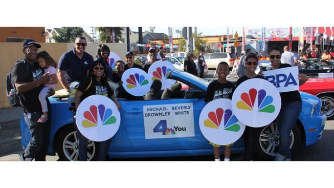 NBC4 Joins MLK Kingdom Day Parade