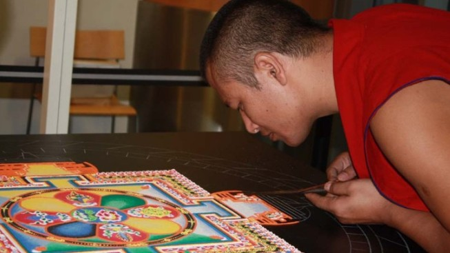 The Making of a Sand Mandala