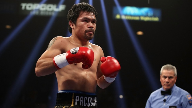 Manny Pacquiao's Home Burglarized When He Was in Las Vegas for a Fight