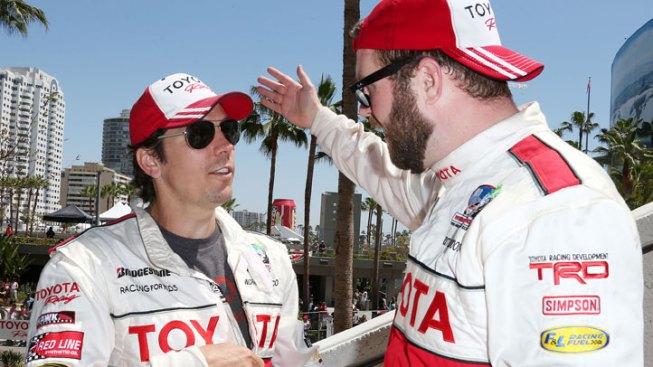 Racing Commentator Wins Long Beach Grand Prix Celebrity Race
