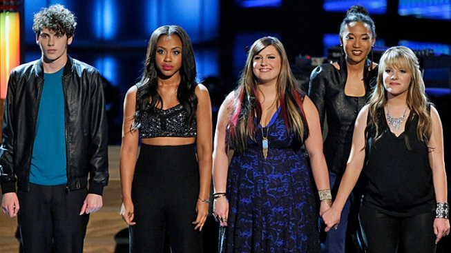 """""""The Voice"""" Gets Its Top 10 as Vedo, Garrett Head Home"""
