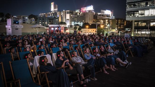 July Is Sky High, Movie-Wise, at the Rooftop Cinema Club