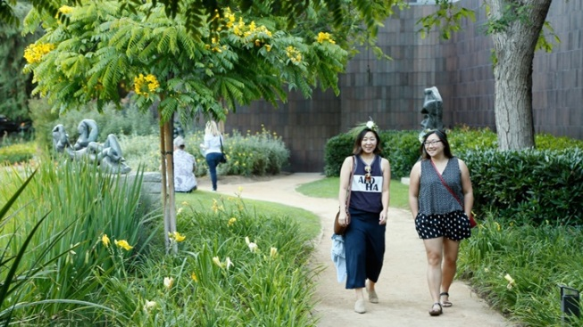 Norton Simon: Summer Garden Party