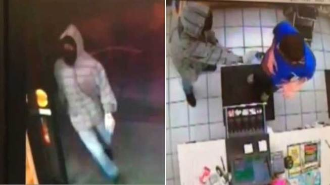 Caught on Camera: Masked Man Robs Orange County Gas Station