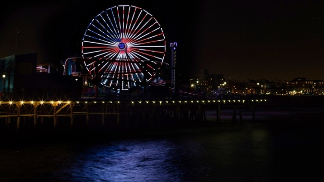 Pacific Wheel Goes Red, White, and Blue
