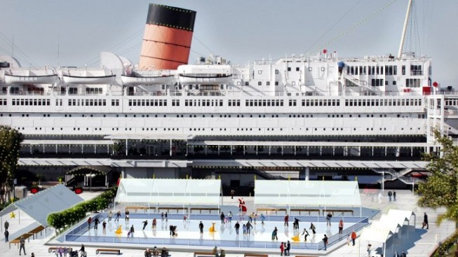 Queen Mary's Winter Wonderland Debuts