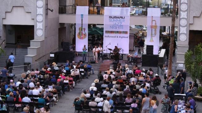 Free Jazz Nights Begin at Hollywood & Highland