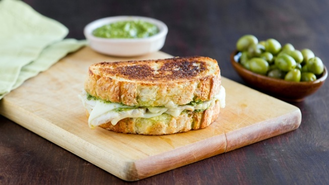 Bite into Grilled Cheese Month at La Brea Bakery