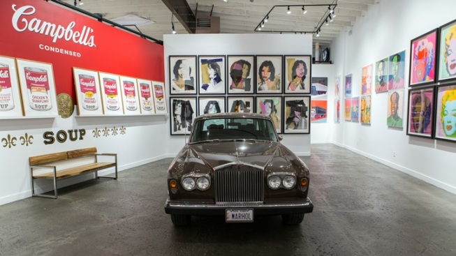 Andy Warhol's Rolls-Royce: On Display