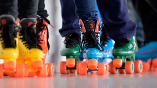 So Roller Skating Cabanas Are Now a Thing