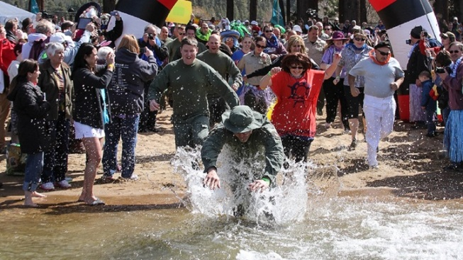 South Lake Tahoe Polar Plunge