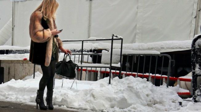 Uggs? Ugh. NY Fall Fashion Week Battles the Elements
