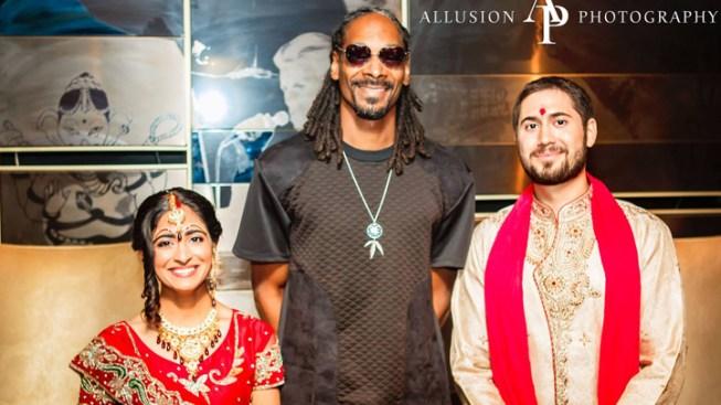 Snoop Dogg Crashes Hindu Wedding in Chicago