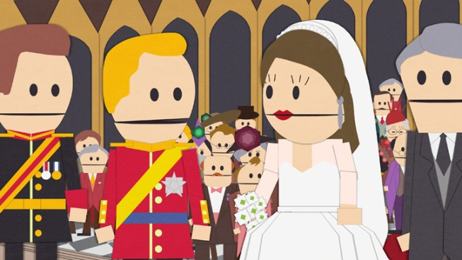 South Park Spoofs Royal Wedding
