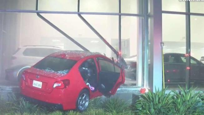 4 to Watch: Thousands of Dollars in Damages After Car Crashes Into BMV Dealership