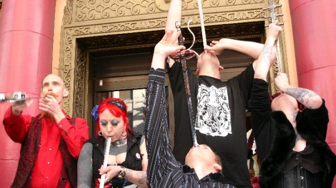 World Sword Swallowers Day