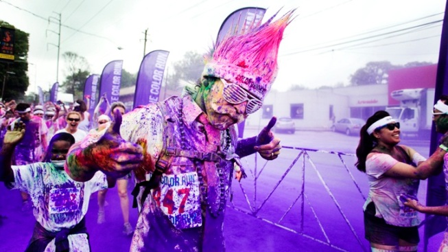 Weekend: Running Events Both Colorful and Kooky