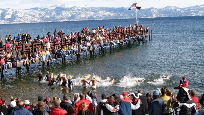 Take the Teeth-Chattering Plunge at Lake Tahoe