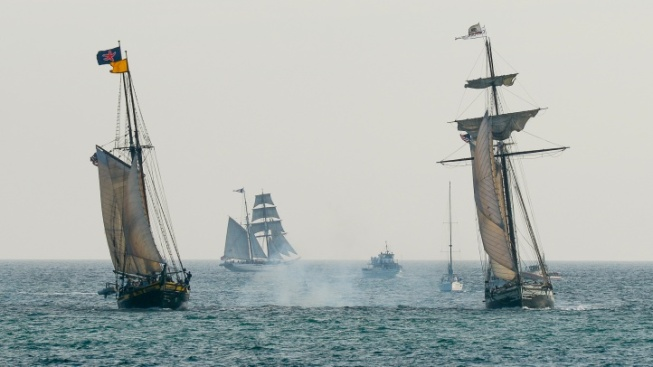 Ahoy, It's the Tall Ships Festival, in Dana Point