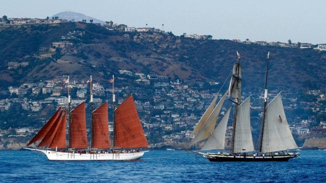 Weekend: Tall Ships in Dana Point Harbor