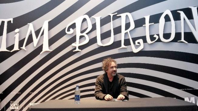 Tim Burton LACMA Signing