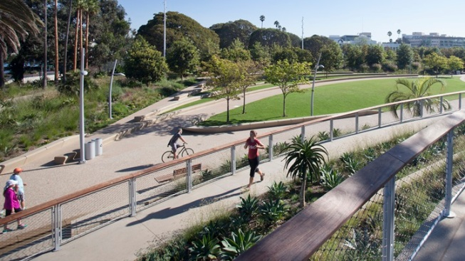 Grand Opening: Santa Monica's Tongva Park and Ken Genser Square