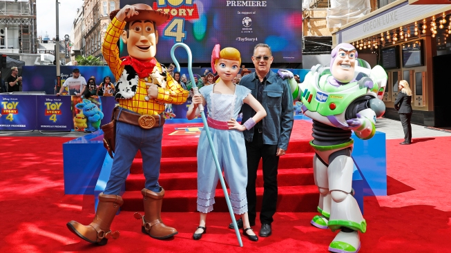 'Toy Story 4' Repeats at No. 1 Over 'Annabelle,' 'Yesterday'